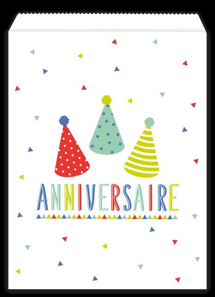 Achat en ligne 10 sachets papier birthday party