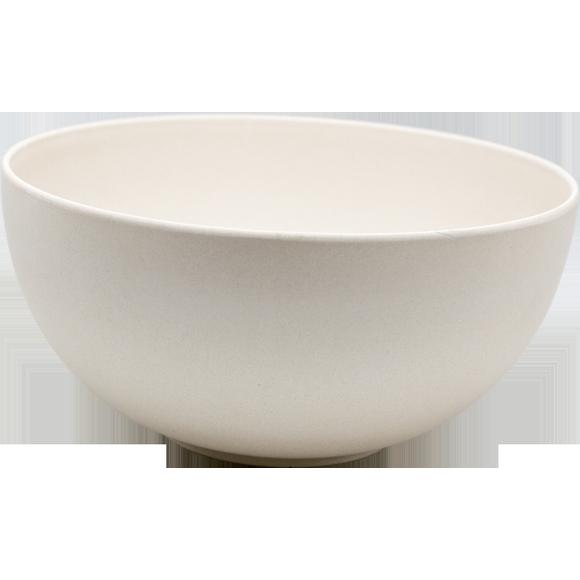 Achat en ligne Saladier bambou 24,5x12 cm blanc