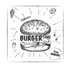 Achat en ligne Sachet de 20 papiers burger 30x30cm