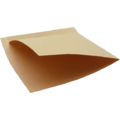 20 papiers kraft pour club sandwich 17x18cm