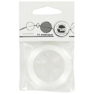 Bobine de fil élastique transparent 0,23mmx15m