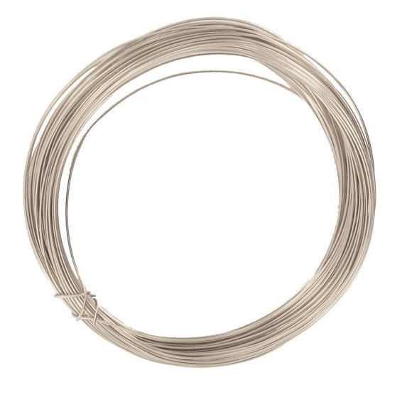 Achat en ligne Bobine de fil d'aluminium argent 0,4mmx10m