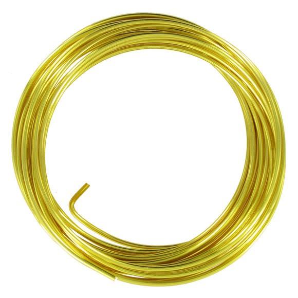 Achat en ligne Indispensables Bobine de fil d'aluminium or 2mmx2m