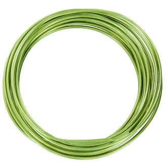 Bobine de fil d'aluminium vert d'eau 2mmx2m