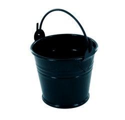 Achat en ligne Mini seau en métal noir mat 5,5cm