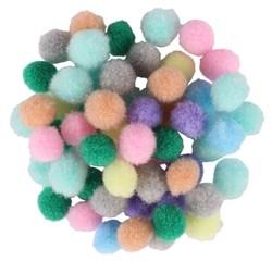 Achat en ligne Sachet de 200 mini-pompons pastels diamètre 0,8cm