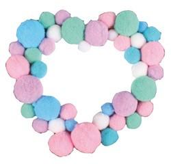 Achat en ligne Sachet de 120 pompons pastels