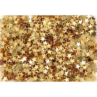 Paillettes étoiles or en sachet 50g