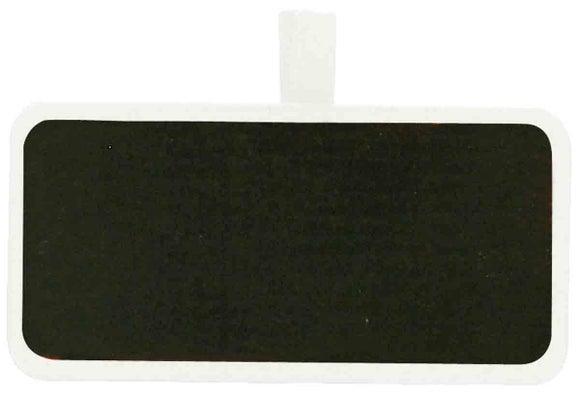 Achat en ligne 12 pinces ardoise rectangle 4,1x2,1cm