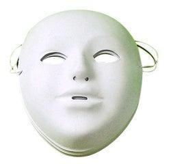 Achat en ligne Set de 5 masques en plastiques blancs