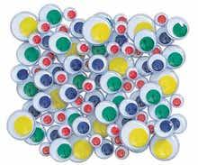 Achat en ligne Sachet yeux mobiles multicolore 0,8/1/1,2cm