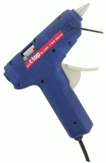 Indispensables - mini pistolet à colle + 2 bâtons de colle