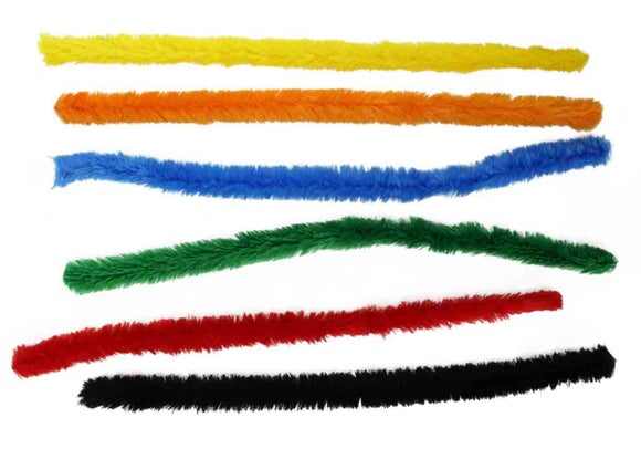 Achat en ligne 6 méga chenilles colorées