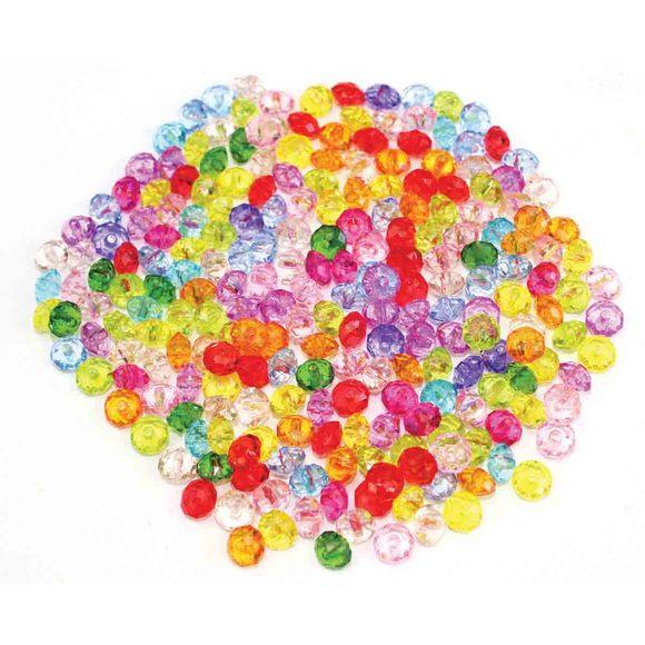 Achat en ligne Perles acrylique facettes couleurs