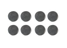 Achat en ligne Set de 8 aimants forts avec aspect en métal 10mm