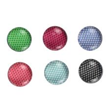 Achat en ligne Set de 6 aimants en verre thème Pois 1,8cm