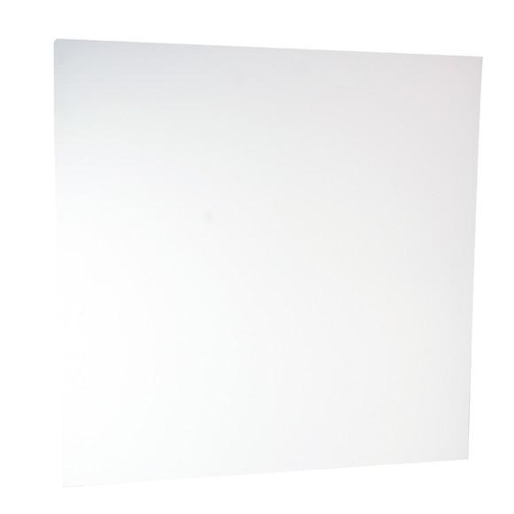 Chassis en coton blanc 3D 100x100cm
