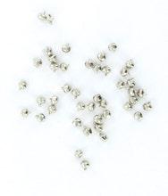 Achat en ligne Set de 48 grelots argentés 0,7mm