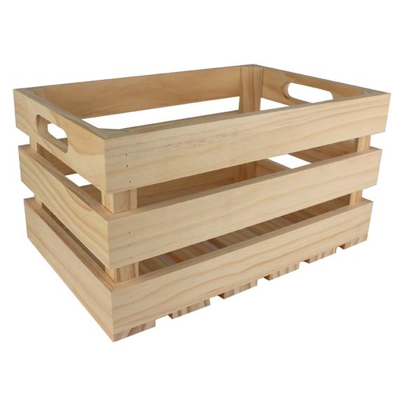 Contenitore di legno 38x26x20cm