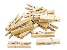 Achat en ligne Indispensables 50 pinces à linge en bois 2,5cm