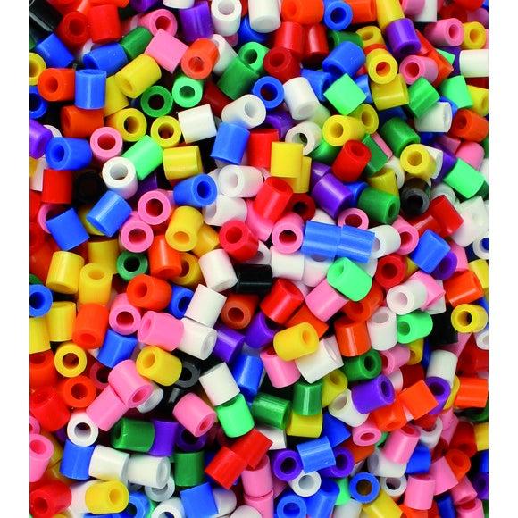Achat en ligne Kit créatif 1000 perles fusibles couleurs opaque de 5mm