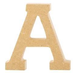 Achat en ligne Lettre A à décorer en bois 5cm