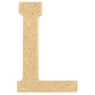 Lettre L à décorer en bois 5cm