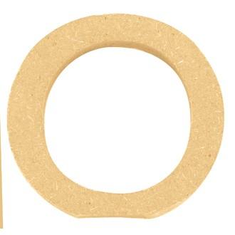 Lettre O à décorer en bois 5cm