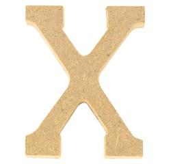 Achat en ligne Lettre X à décorer en bois 5cm