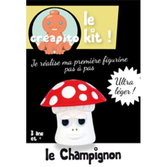 Achat en ligne Kit le Champignon en pâte à modeler rouge Creapito