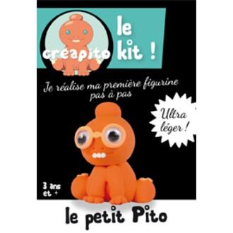 Kit le Petit Pito en pâte à modeler orange Creapito