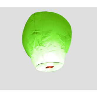 Lanterne volante vert