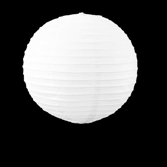 Suspension boule japonaise en papier blanc 30cm