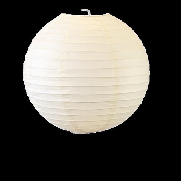 Suspension boule japonaise en papier champagne 30cm
