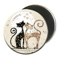 Magnet rond chat 5,5cm - MCH001