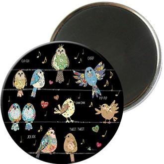 KIUB - Magnet rond jewels 5,5cm - MAGR03C02