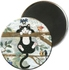 MAGNET ROND ANIMAUX