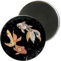 Magnet rond jewels poisson 5,5cm - MAGR03C10