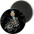 Magnet rond jewels oiseau 5,5cm - MAGR03C11