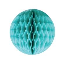 Achat en ligne Boule de papier festonée vert aqua diamètre 20cm