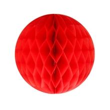 Achat en ligne Boule festonée rouge 20cm