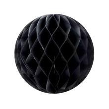 Achat en ligne Boule festonée noire 20cm
