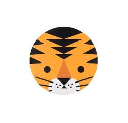 compra en línea 8 mini invitaciones de animales de la selva de felinos