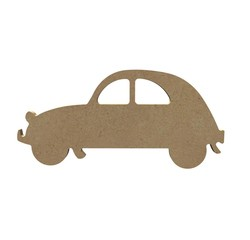 compra en línea Coche 2CV de madera para decorar (15 cm)
