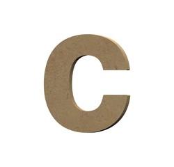 Achat en ligne Lettre C à décorer minuscule en bois 9cm