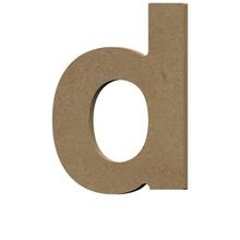 Achat en ligne Lettre D à décorer minuscule en bois 9cm