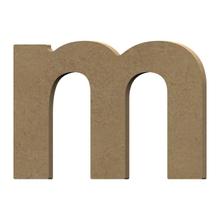 Achat en ligne Lettre M à décorer minuscule en bois 9cm