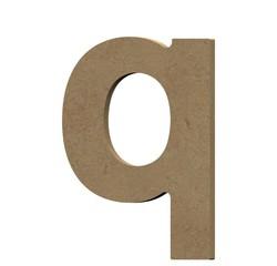 Achat en ligne Lettre Q à décorer minuscule en bois 9cm