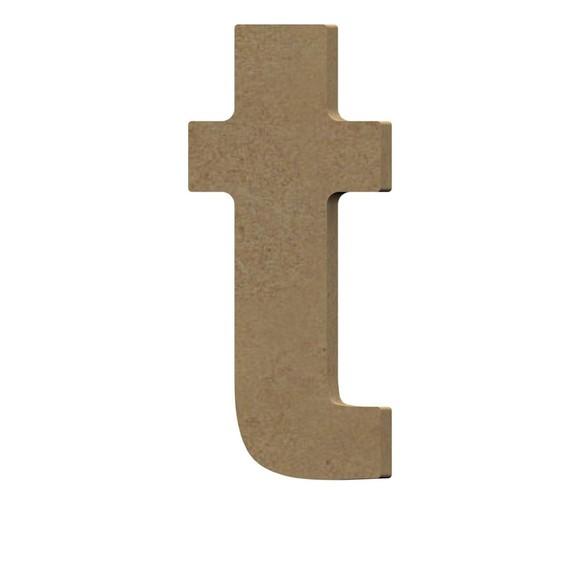 Lettre U à décorer minuscule en bois 9cm
