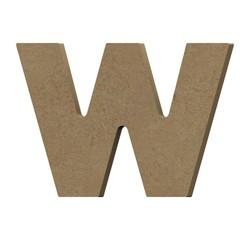 Achat en ligne Lettre W à décorer minuscule en bois 9cm